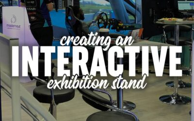 Creating an interactive exhibition stand