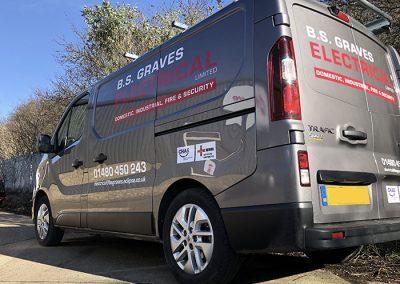 Car and Van Graphics in Huntingdon Cambridgeshire