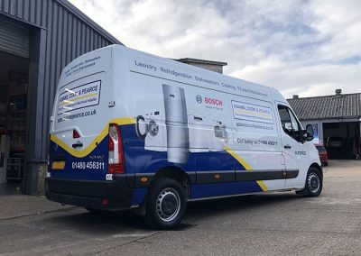Car and Van Wraps in Huntingdon Cambridgeshire