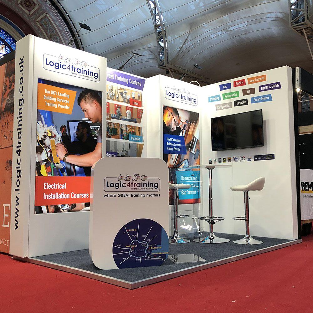 Customer Booth Builder - Logic4Training Stand