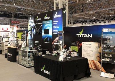 Customer Booth Builder - Titan Automotive Modular Stand