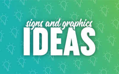 Signs and graphics ideas
