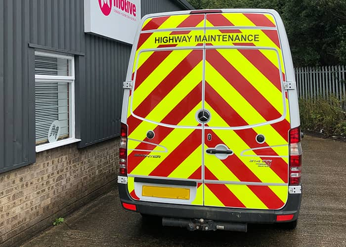 Highway Maintainence Graphics for Van