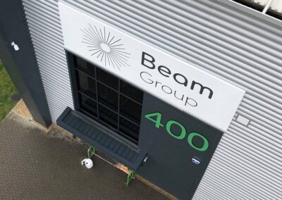 New Industrial Unit Signage for Beam Group