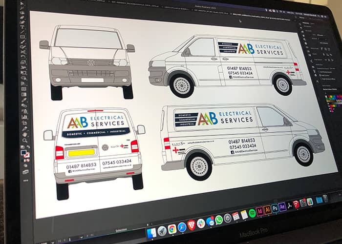 Vehicle Graphics and Signwriting Design