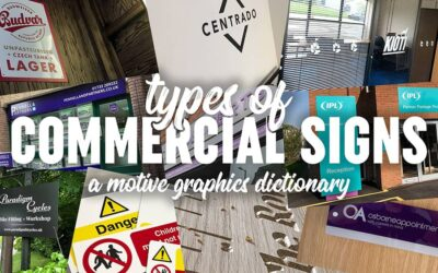 Types of Commercial Signs
