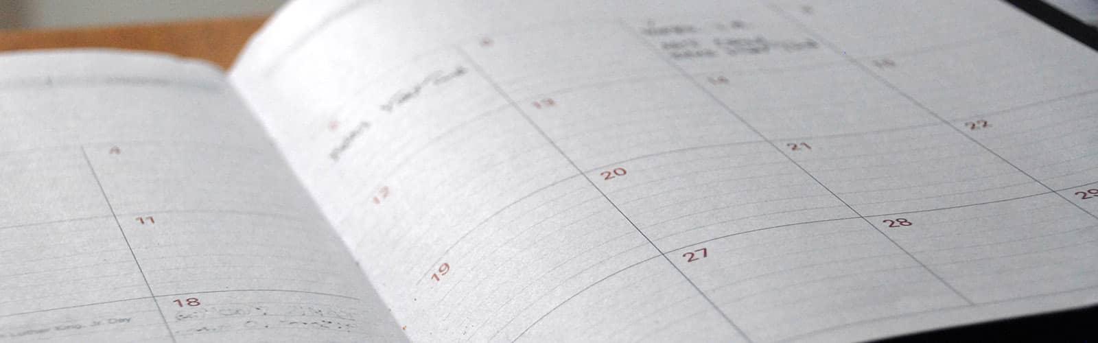 Understanding your timescales
