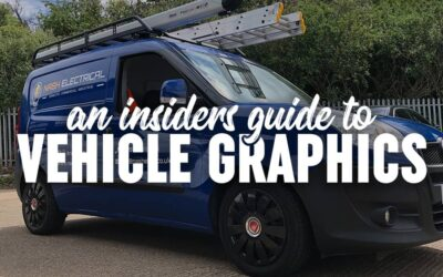 An insider's guide: What to think about when getting van graphics