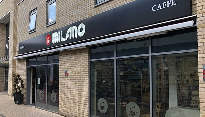 Shop front by sign company in huntingdon