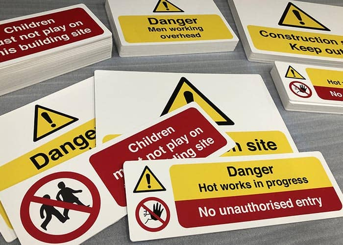 Signs for Tradesmen