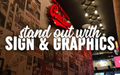 How to stand out using signs and graphics