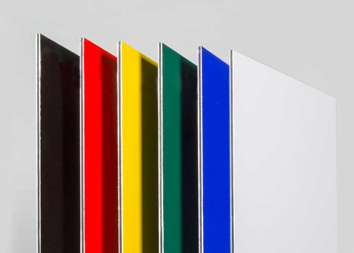 Aluminium Composite Board for Stand Off Lettering