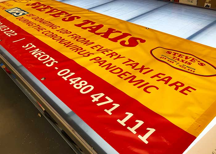 Low Cost PVC Banner Printing Service in St Neots