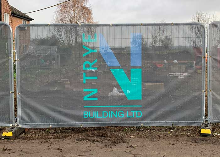 Mesh Banner Printing in St Neots