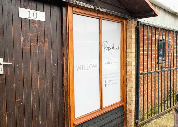 One Way Vision Window Vinyls | Printed One Way Vision Vinyl for From Willow in Huntingdon