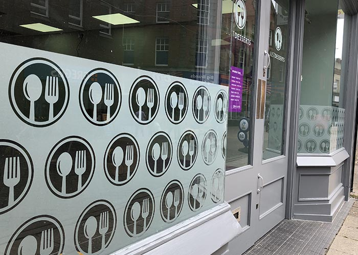 Window Graphics and Frosting in Kettering